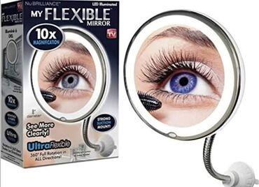 Personalni proizvodi | Vladicin Han: Fleksibilno kozmeticko led ogledaloPrecnik ogledala 20cmVakumski drzac