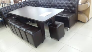 9 мик в Кыргызстан: Комплект стол и стулья | Кухонный | на 9-12 персон
