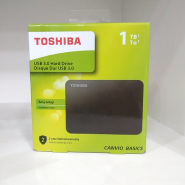 sert-disk - Azərbaycan: Original Toshiba 1tb external hdd. usb 3.0 xarici sert disk