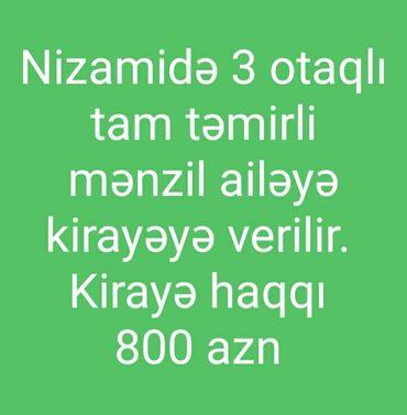 Daşınmaz əmlak - Azərbaycan: 130 kv. m, 3 otaqlı,   Qaz, İşıq, Su