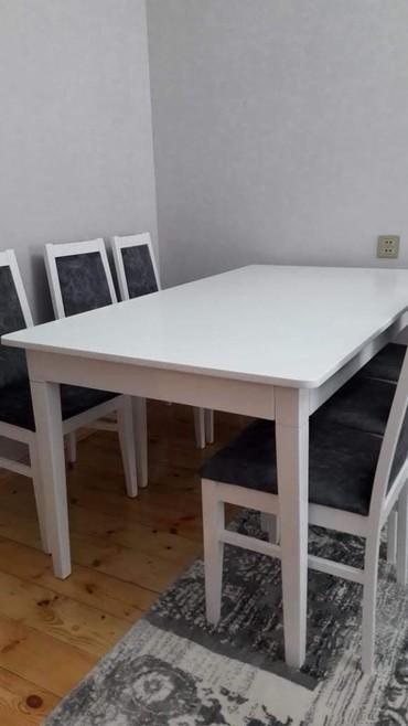Bakı şəhərində Qonaq masa desti satilir. Tam yenidir. Qetiyyen istifade olunmayib.