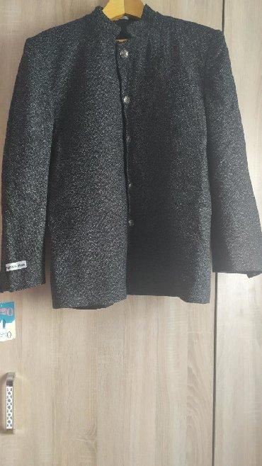 черная длинная футболка мужская в Кыргызстан: Продаю пиджак мужской, размер 50, новый