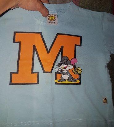 Majica sl sa - Srbija: Majica firme `Little M`, za decake, sa misicem, za uzrast 3 godine