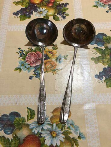 Аксессуары для кухни - Кыргызстан: Мельхиоровые Советские поварежки(МНЦ), новые, специально не чищенные