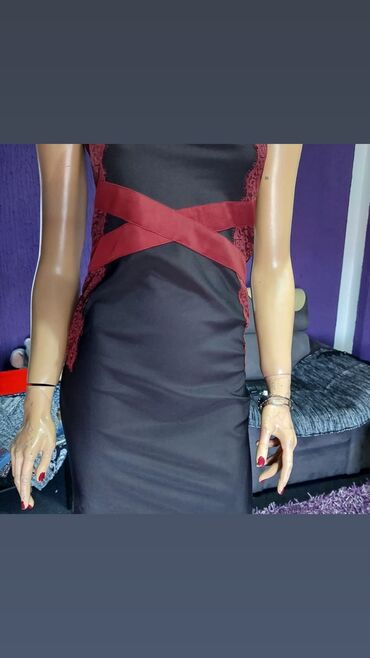 350 oglasa: Prelepa nova lasteks top nova haljina 38 vel
