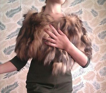 Меховая накидка из северной лисы . цена 4000 сом в Шопоков
