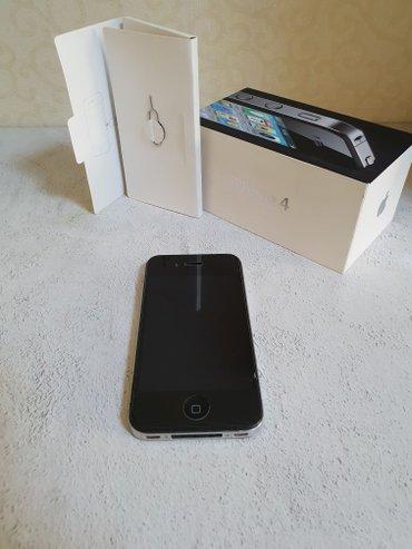 Продаю iPhone 4 16Gb в отличном состоянии все родное. в Бишкек