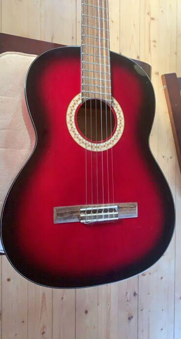Musiqi alətləri - Azərbaycan: Rivertone classic guitar model LC-18 4/4 RBHəvəsini itirdiyim üçün