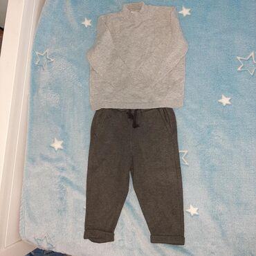 Zarin komplet trenrka/pantalone i majica sa kratkom rolkom 12-18meseci
