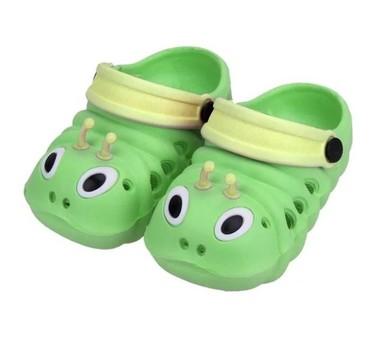Nove papučice, veličina 20 (ug 11cm) zelene i 24 ( ug 14) žute. - Nis