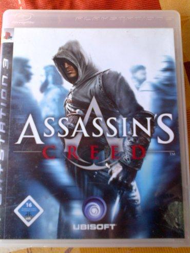 Igrice za ps3 - Srbija: ASSASSINS CRED igrica za Sony Playstation 3 =ispravne su