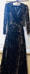 коричневое платье в пол в Кыргызстан: Платье Вечернее Regular S