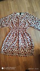 длинное платье с цветочным принтом в Кыргызстан: Новое платье, Турция. Супер качество. Шикарный принт