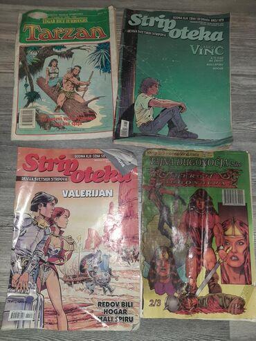 Knjige, časopisi, CD i DVD | Kovilj: Stripovi i romani ima dosta