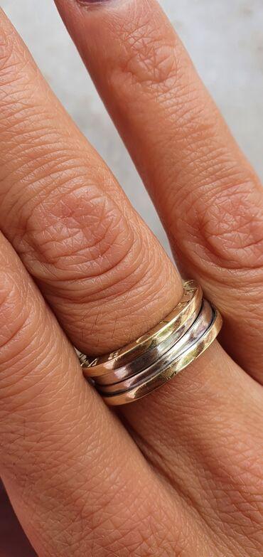 Кольца - Кыргызстан: Срочно продаю золотое Кольцо, 585 пробы. В стиле Bvlgari ( вес: кольца