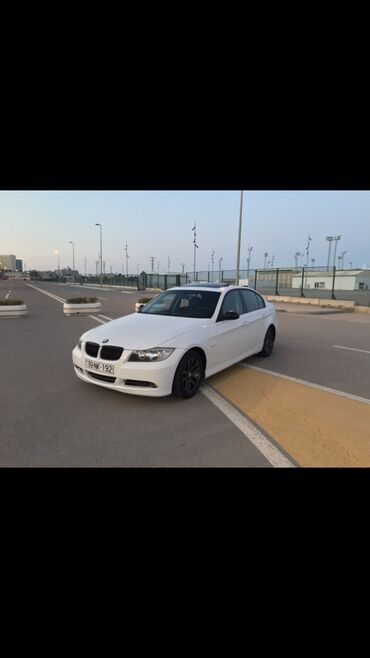 bmw-3-серия-320-4mt - Azərbaycan: BMW 320 2 l. 2007   190000 km