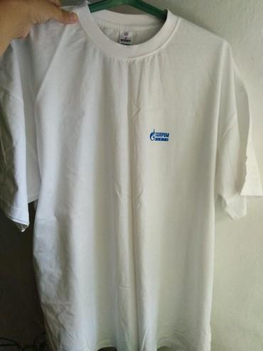 Мужская одежда в Кок-Ой: Новая мужская футболка отличного качества! При стирке надпись не