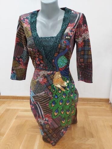 Haljina st - Srbija: Prelepa PS haljina,jednom obucena.Fenomenalno stoji