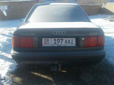 ауди с4 1992 г. V6 2,8 плита v образная. газ- бензин. гбо, салон дерев в Нарын