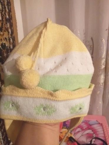 детские вязаные шапки ручной работы в Кыргызстан: Детская шапка,Россия