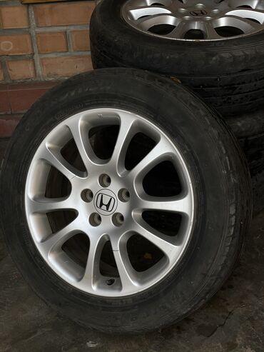 шины r18 в Кыргызстан: Оригинальные колёсные диски марки Honda R18. В наборе 5 дисков