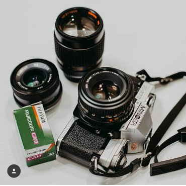 Minolta x370 +Minolta 50mm f1.7 +Osawa135mm f2.8 + Clubman 28mm f2.8+ в Bakı