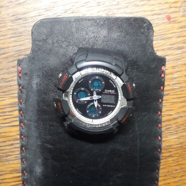 chasy g shock kachestvennaja replika в Кыргызстан: Черные Унисекс Наручные часы Casio