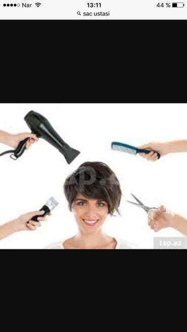 Bakı şəhərində Xanımlar üçün saç ustası kursu.Kurs gözəllik salonunda keçirilir.