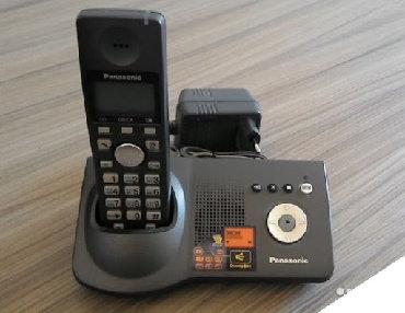 Телефон - Кыргызстан: Продаю радиотелефон Panasonic KX-TG7125RU Производитель