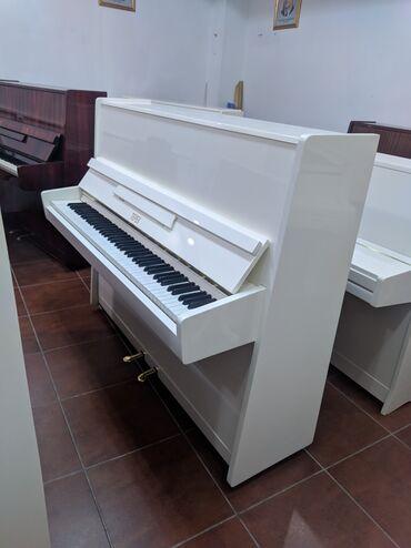 """Bakida- Gəncədə Fil dişi Rənq Rusiya Piano """"Terek""""Satilir.Tam"""