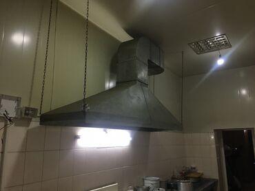 вытяжка для кухни бишкек цены в Кыргызстан: Продам промышленную вытяжку в сборе
