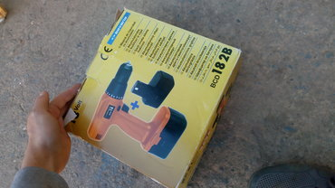 Bavaria BCD 18V 2B srafilicaIspravna, nema adapter .Ide na 18VBroj