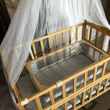 dvuhjarusnaja-krovat-dlja-detej-i в Кыргызстан: Продается детская кроватка б/у. Фото не родное!!!