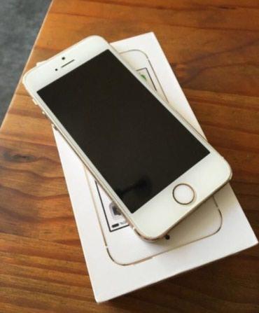 Iphone 5s gold 16 GB barmag izi ios 12 den sonra iwlemedi ekran в Bakı