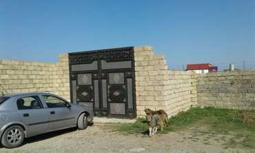Bakı şəhərində Pirsağida 10 sot torpaq sahasi. Hartarafli hasar,giris
