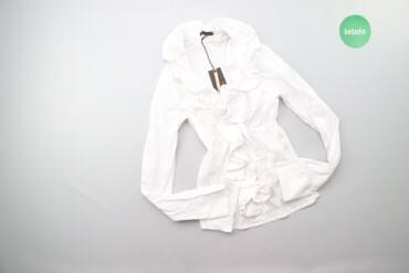 Жіноча класична сорочка з рюшами Be Tween, p. S    Довжина: 58 см Шири