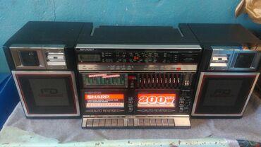 SHARP WF939 Всё работает в хорошем состоянии. FM 88-108. Небольшой