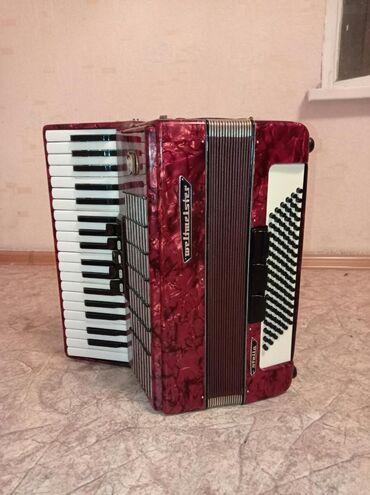 Аккордеоны - Бишкек: Немец аккордеону Валтмеистер Стелла.Абалы зынк