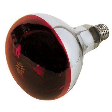 Лампа инфракрасная 250W. Для обогрева животных и птиц