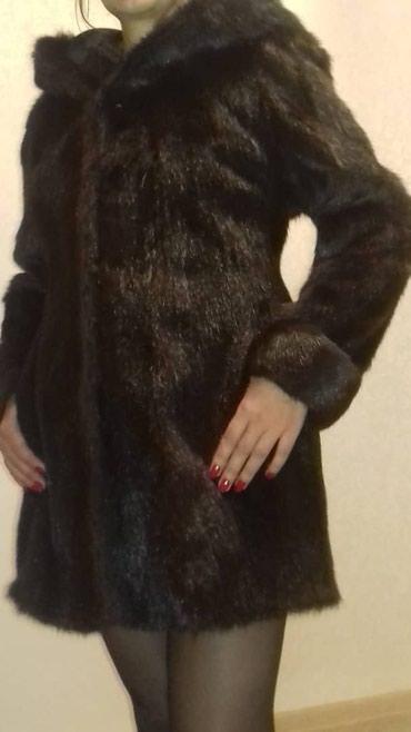 Продаю полушубок.Натуральный хонорик.Размер 46-48. Б-у. Цена 4000 сом. в Бишкек