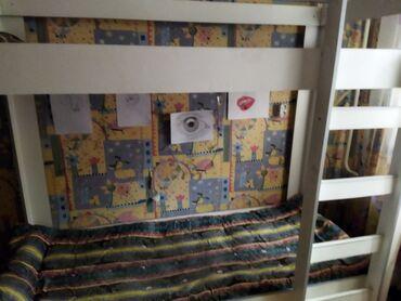 Двухъярусная кровать 6 000.1,80длинна,высота 1,70. Состояние