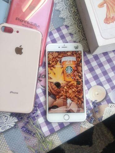 apple iphone 6 s в Кыргызстан: Б/У iPhone 6s Plus 16 ГБ Розовое золото (Rose Gold)