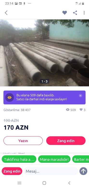 audi coupe 18 mt - Azərbaycan: 6 metir uzunu 32 mt dyametri