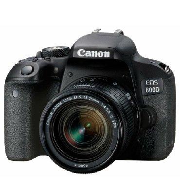 arenda-canon в Кыргызстан: Продаю новый фотоаппарат Canon 800D Камера  Тип камеры зеркальная Объе