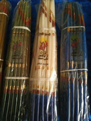 Свечи - Кыргызстан: Свечи Иерусалимские . Пучок 33 штуки