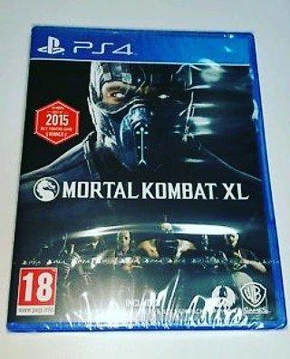 Bakı şəhərində Mortal kombat Xl oyunu Təzə upokovkada orginal