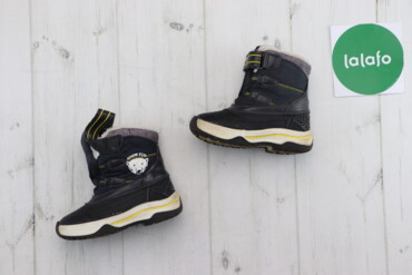 Детская обувь - Черный - Киев: Дитячі зимові чоботи Lupilu, р. 23    Довжина підошви: 16 см  Стан: га