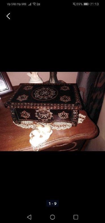 Kutija za nakit hand made