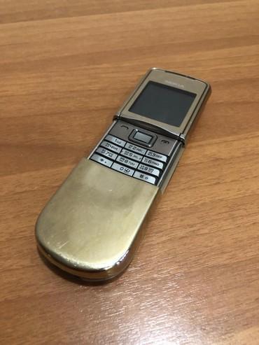 Продаю Nokia 8800 Sirocco GOLD  в Бишкек