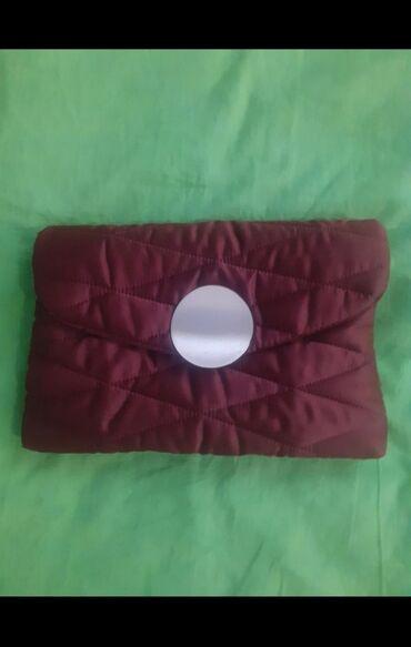 сумки для роддома купить в Кыргызстан: Фирменный Клатч от Манго состоянии нового прям очень практичный и мя